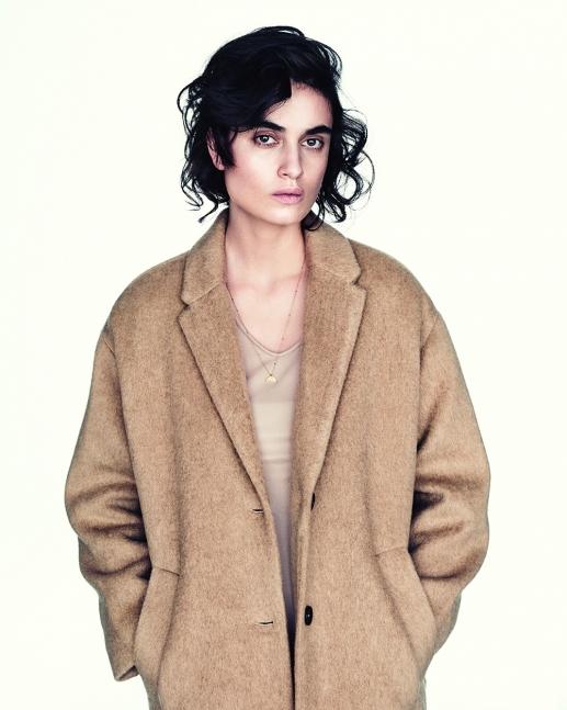 Stylist Maiken Winther Wood Wood beige coat